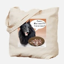 Belgian Sheep Turkey Tote Bag