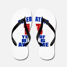 Celebrating 13 Years Of Being Awesome Flip Flops