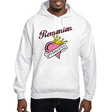 Romanian Princess Hoodie Sweatshirt