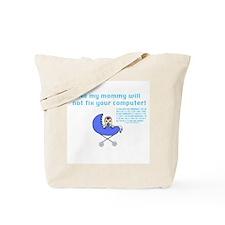 Mom Techie (w/ Binary) - Tote Bag