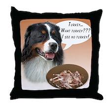 Bernese Turkey Throw Pillow