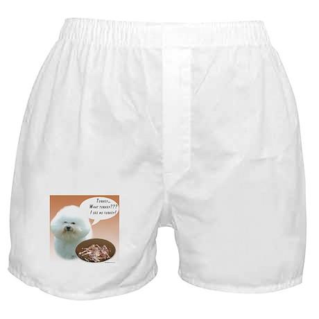 Bichon Turkey Boxer Shorts