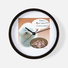 Bichon Turkey Wall Clock