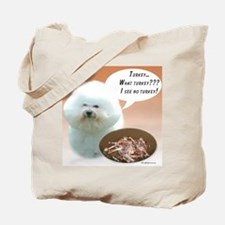 Bichon Turkey Tote Bag