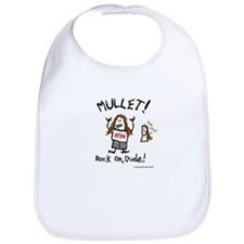 Cute Mullets Bib