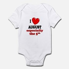 August 5th Infant Bodysuit