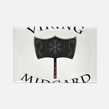 Viking Mjolnir Black Magnets