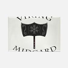 Viking Mjolnir Black Magnets