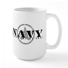 Navy - I Support My Seal Mug