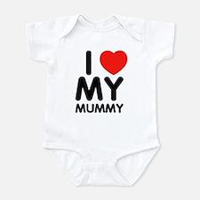 I love my mummy Infant Bodysuit