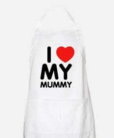 I love my mummy BBQ Apron