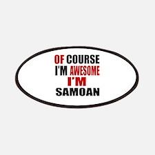 Of Course I Am Samoan Patch