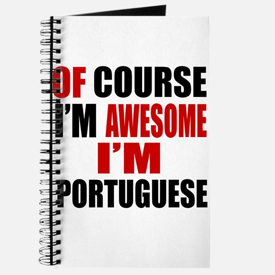 Of Course I Am Portuguese Journal