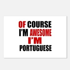 Of Course I Am Portuguese Postcards (Package of 8)