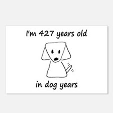61 Dog Years 6-2 Postcards (Package of 8)