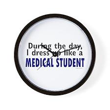 Dress Up Like A Medical Student Wall Clock