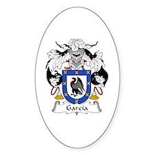 García III Oval Decal