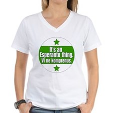 Esperanto Thing Shirt