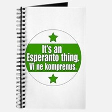 Esperanto Thing Journal
