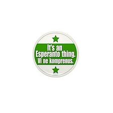 Esperanto Thing Mini Button