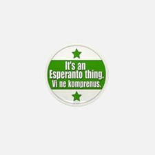 Esperanto Thing Mini Button