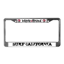 Surf California License Plate Frame