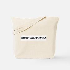 Surf California Tote Bag