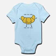 Croissant Gifts Cute Personalized Body Suit