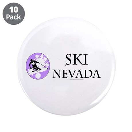 "TOP Ski Nevada 3.5"" Button (10 pack)"