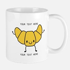 Croissant Gifts Cute Personalized Mugs