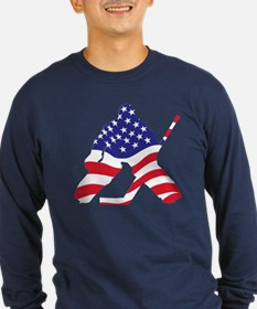 3-All-AmericanHockey Long Sleeve T-Shirt