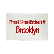 Proud Grandfather of Brooklyn Rectangle Magnet