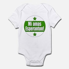 Mi Amas Esperanton Infant Bodysuit