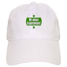Mi Amas Esperanton Baseball Cap