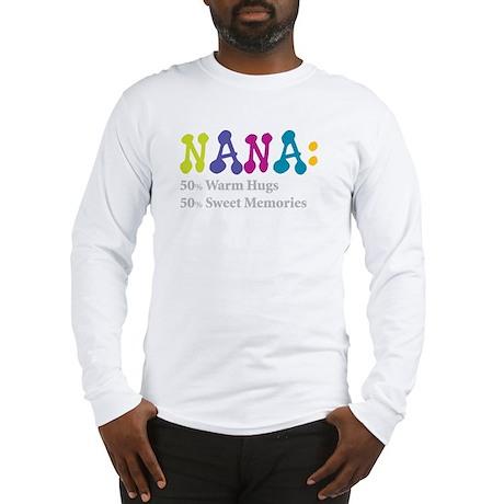 nana warm hugs Long Sleeve T-Shirt