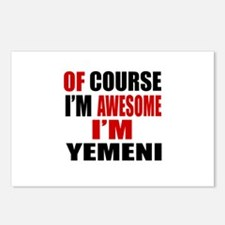 Of Course I Am Yemeni Postcards (Package of 8)