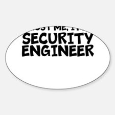 Trust Me, I'm A Security Engineer Decal