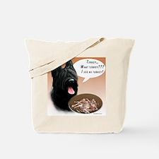 Briard Turkey Tote Bag