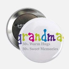"grandma warm hugs 2.25"" Button"