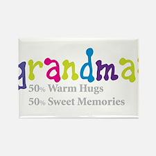 grandma warm hugs Rectangle Magnet