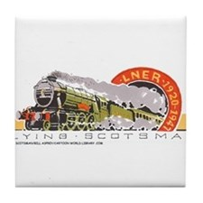 Flying Scotsman Tile Coaster