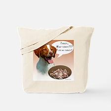 Brittany Turkey Tote Bag