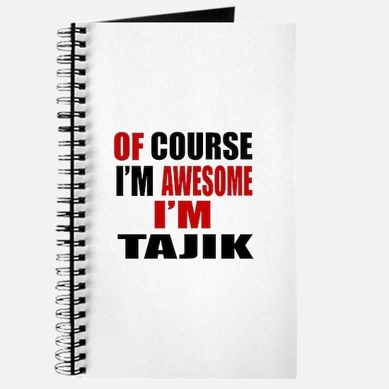 Of Course I Am Tajik Journal