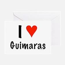 I love Guimaras Greeting Card