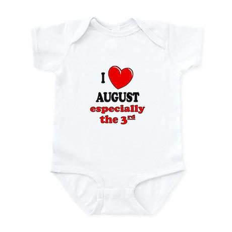 August 3rd Infant Bodysuit