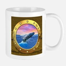 Breaching Humpback Whale Mugs