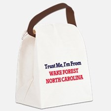 Trust Me, I'm from Wake Forest No Canvas Lunch Bag