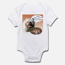 Bulldog Turkey Infant Bodysuit