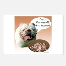 Bulldog Turkey Postcards (Package of 8)