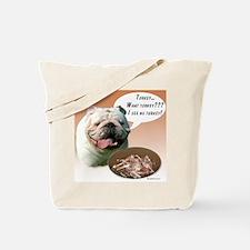Bulldog Turkey Tote Bag